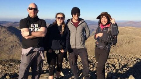 Teachers trek to complete three peak challenges