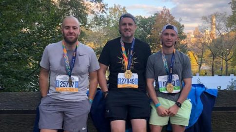 Friends complete New York Marathon